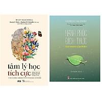 Combo Tâm Lí Học Tích Cực - Khoa Học Về Phương Thức Sống An Lạc+Hạnh Phúc Đích Thực - Sức Mạnh Của Thiền.MHBooks