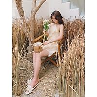Đầm yếm lông vũ Furlise Dress Gem Clothing SP060412
