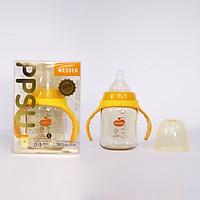 Bình sữa Wesser PPSU cao cấp cổ hẹp cổ rộng cho bé từ sơ sinh