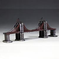 Mô hình thép 3D tự ráp cầu Brooklyn màu