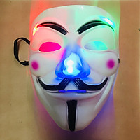 Mặt Nạ Hacker hóa trang có đèn Led