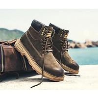 Giày da bò nam thật phong cách Hàn Quốc ,năng động cá tính thời trang dành cho nam - mã T79711