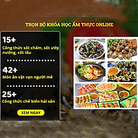 Combo 3 khóa học Ẩm thực online- Công thức 82 món ăn đơn giản, dễ làm tại nhà- Unica