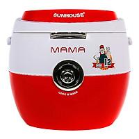 Nồi Cơm Điện Nắp Gài Sunhouse Mama SHD8661 (1.8 lít) - Đỏ - Hàng chính hãng