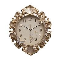Đồng hồ treo tường mạ vàng phong cách Châu Âu