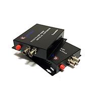 Bộ chuyển đổi video sang quang 2 kênh GNETCOM HL-2V-20T/R-720P (2 thiết bị,2 adapter) - Hàng Chính Hãng