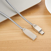 Cáp sạc USB Type - C Akwell 2.4A - Hàng Chính Hãng