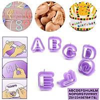 Khuôn Làm Bánh Fondant Alphabet