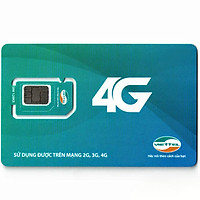 Sim Dcom 4G D300 Viettel Trọn Gói 6 Tháng (4Gb/Tháng) tốc độ cao