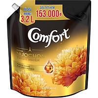 Nước xả vải làm mềm vải Comfort Chăm sóc Chuyên sâu Hương nước hoa thiên nhiên Sophia túi 3.2L