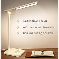 Đèn bàn H118 -tích hợp  03 Chế Độ Ánh Sáng Vàng Bảo Vệ Mắt Chống Cận Có Chế Độ Đèn Ngủ