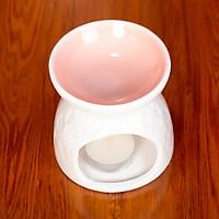 Đèn xông tinh dầu nến tròn bông mai DN-05
