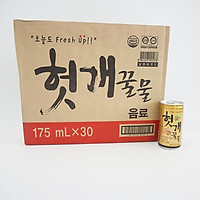 Thùng 30 lon nước thanh nhiệt Heotkkae và mật ong (175ml)