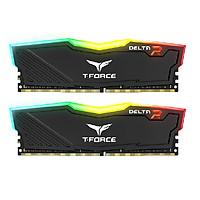Ram TEAMGROUP T-Force Delta RGB Series 16GB (2 x 8GB) - 3000MHz LED 16,8 triệu màu, tản nhiệt nhôm - Hàng chính hãng