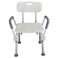 Adjustable Height Elderly Bath Tub Shower Chair Bench Stool Seat Non-slip
