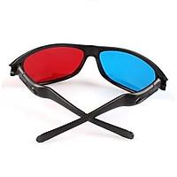 Plasma TV Movie Dimensional Anaglyph Framed 3D Vision Game Red & Blue Glasses NEW