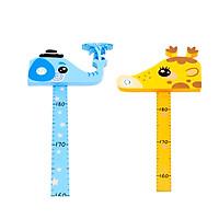 Thước đo chiều cao nam châm dán tường cho bé của babyhop - BBH9901
