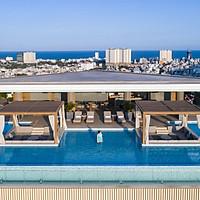 Fusion Suites Hotel 4* Vũng Tàu - Buffet Sáng, Miễn Phí Spa & Sauna, Hồ Bơi Vô Cực Trên Cao, Cách Biển 150m