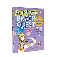 Summer Brain Quest 2&3 - Sách phát triển tư duy - Genbooks ( Tiếng Anh, 7 - 8 tuổi )