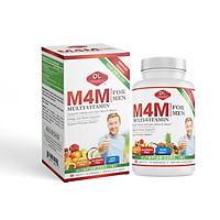 M4m multi vitamin for men bổ sung vitamin và khoáng chất cho nam giới