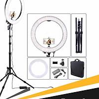 Đèn Livestream size 26 30 36 45 cm và chân 2m1 Hỗ Trợ Chụp Ảnh Make up Trang Điểm nhiều Chế Độ Sáng
