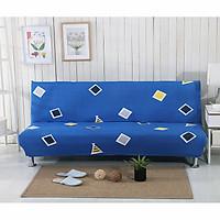 Bộ Vỏ Bọc Sofa Giường MARYTEXCO Họa Tiết Hình Học Mềm Mát Mịn Thích Hợp Cho Mùa Hè cho sofa bed/ sopha giường KHÔNG TAY VỊN vải nỉ/ da giúp biến đổi diện mạo sofa cũ - Tặng kèm 1 vỏ gối freesize