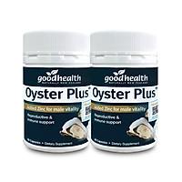 Combo 2 Hộp Tinh Chất Hàu Goodhealth Oyster Plus 60 Viên - Tăng Cường Sinh Lý - Cải Thiện Chất Lượng Tinh Trùng - Hàng Chính Hãng New Zealand