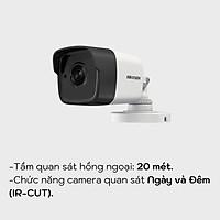 Camera HD-TVI hồng ngoại 3.0 Megapixel HIKVISION DS-2CE16F1T-IT - HÀNG CHÍNH HÃNG
