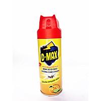 Bình xịt côn trùng D-MAX 300ml Hương cam chanh-Hàng chính hãng