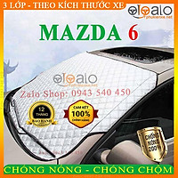 Bạt Phủ Ô Tô Mazda 6 Cao Cấp 3 Lớp Chống Nắng Nóng Chống Nước Chống xước   OTOALO