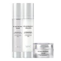 Combo AHC Hyaluronic Emulsion 30ml + AHC Hyaluronic Toner 30ml + AHC Hyaluronic Cream 10ml