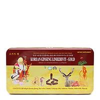 Thực phẩm bảo vệ sức khỏe KOREAN GINSENG LINHZHIVIT - GOLD (Adenosin ≥ 0,7 x 10-3 mg/viên; Ginsenosid ≥ 1,1 x 10-3  mg/viên)bổ sung vitamin & dưỡng chất bồi bổ cơ thể