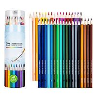 Hộp bút Chì Màu nước kèm Nắp Gọt chì