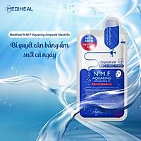 Mặt nạ cấp nước dưỡng ẩm cho da khô Mediheal N.M.F Aquaring Ampoule Mask Ex 25ml