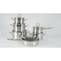 Bộ nồi cao cấp FASTER Diamond, 6 món siêu tiện lợi và đầy đủ cho nhà bếp hiện đại.