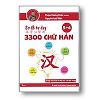 Sách - Sơ Đồ Tư Duy 3300 Chữ Hán tập 56 - Học Từ Vựng Tiếng Trung Qua Hình Ảnh Và Sơ Đồ - Phạm Dương Châu - Kèm Adio Chuẩn Giọng Người Bản Xứ