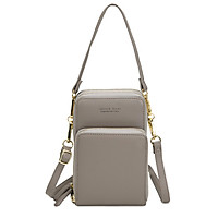 Crossbody mobile phone bag women's 2020 new Korean version of large-capacity multi-functional solid color fashion simple