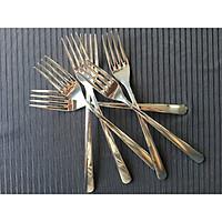 Bộ 6 nĩa/dĩa ăn inox 304 cao cấp, tiện lợi - VTK Table Fork 304