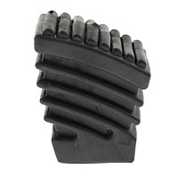 Rubber Feet for Drum Musical Percussion Instrument Parts Black Small