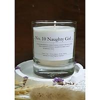 No. 10 Naughty Girl - Nến thơm sáp ong và hỗn hợp tinh dầu: cẩm chướng trắng, xạ hương, tuyết tùng, cam ngọt