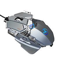 Chuột cơ gaming led RGB 6400DPI - J600S mechanical Gaming mouse - Hàng nhập khẩu