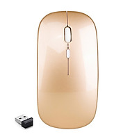 Chuột không dây 2.4G không âm thanh thích hợp trong văn phòng chính hãng ILEPO M5