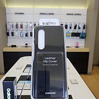 Bao da Samsung Z Fold 3 5G màu đen - Hàng chính hãng