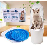 Bộ huấn luyện mèo đi vệ sinh