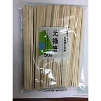 Set 50 đôi đũa gỗ trần sử dụng 1 lần