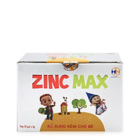 Thực phẩm bảo vệ sức khỏe ZINC MAX bổ sung Kẽm và các vitamin cần thiết tăng cường đề kháng cho trẻ