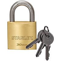Combo 2 Ổ khóa Stanley USA S742- 030 khóa càng tiêu chuẩn, rộng 30mm