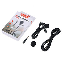 Lavalier Microphone Professional Camera Microphone Mobile Microphone for SLR Interview Conference Recording Video Blog
