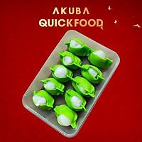 Há cảo tôm sò điệp hộp 10 viên AKUBA Quick Food hương vị thơm ngon từ nhân tôm và sò điệp, làm nhanh - ăn ngon
