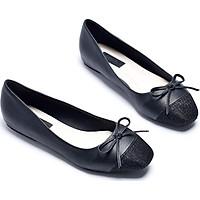 Giày búp bê đính nơ Merly 1202